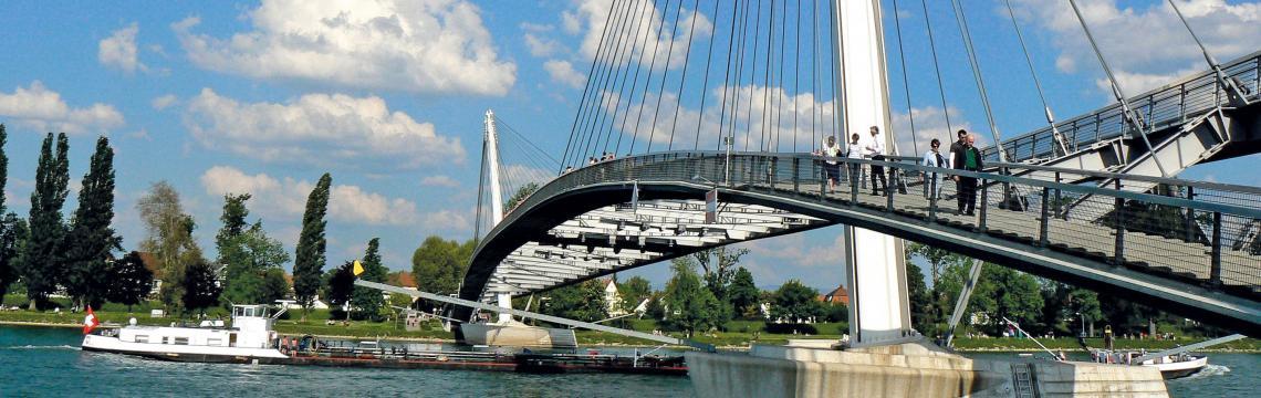 pont frontalier Allemagne France